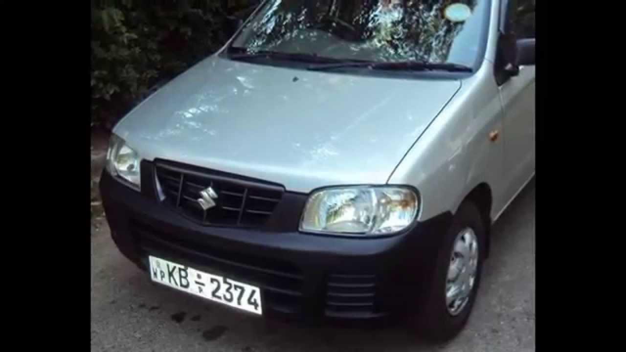 Suzuki Maruti Alto Car For Sale In Srianka Www Adsking Lk Youtube