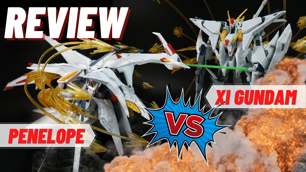 Review HG siêu khủng Xi Gundam VS Penelope Funnel Missile Effect Set   nShop - Game & Gunpla