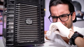 Deep-Cleaning a Viewer's DIRTY Gaming PC! - S2:E1