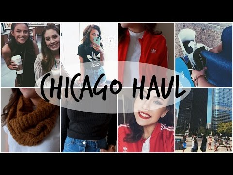 Chicago Haul & Try-On | Adidas, TopShop, American Apparel & More!