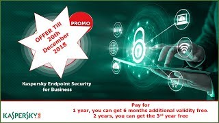 Kaspersky Special Promotion Extra 1 year validity for Kaspersky Endpoint Security for Business cyber