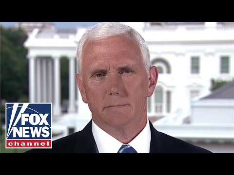 Mike Pence defends administration's decision to pull out of WHO