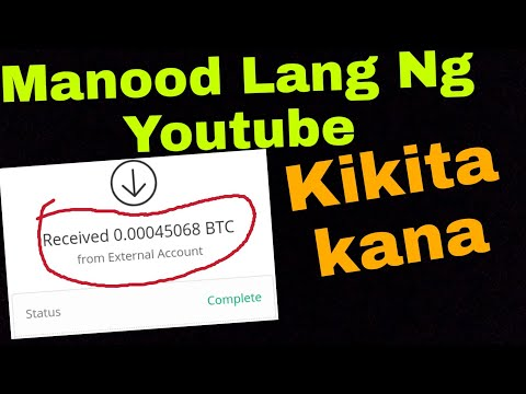 Watching YouTube Videos EARN  BTC With Proof