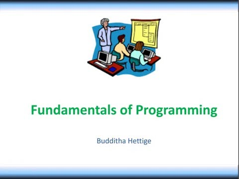 01 What is Programming?