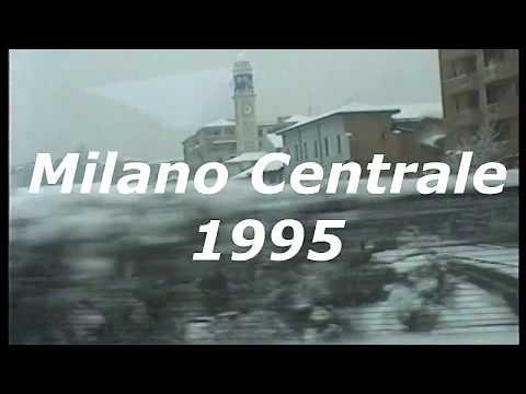 Milano Stazione Centrale, Inverno 1995 Sotto La Neve