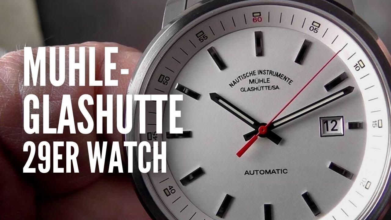 Muhle-Glashutte 29er Wristwatch - YouTube