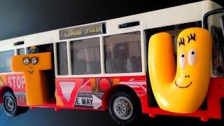 Barbapapa Letters Bus