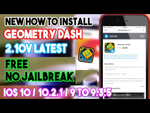 how to get geometry dash for free on ios
