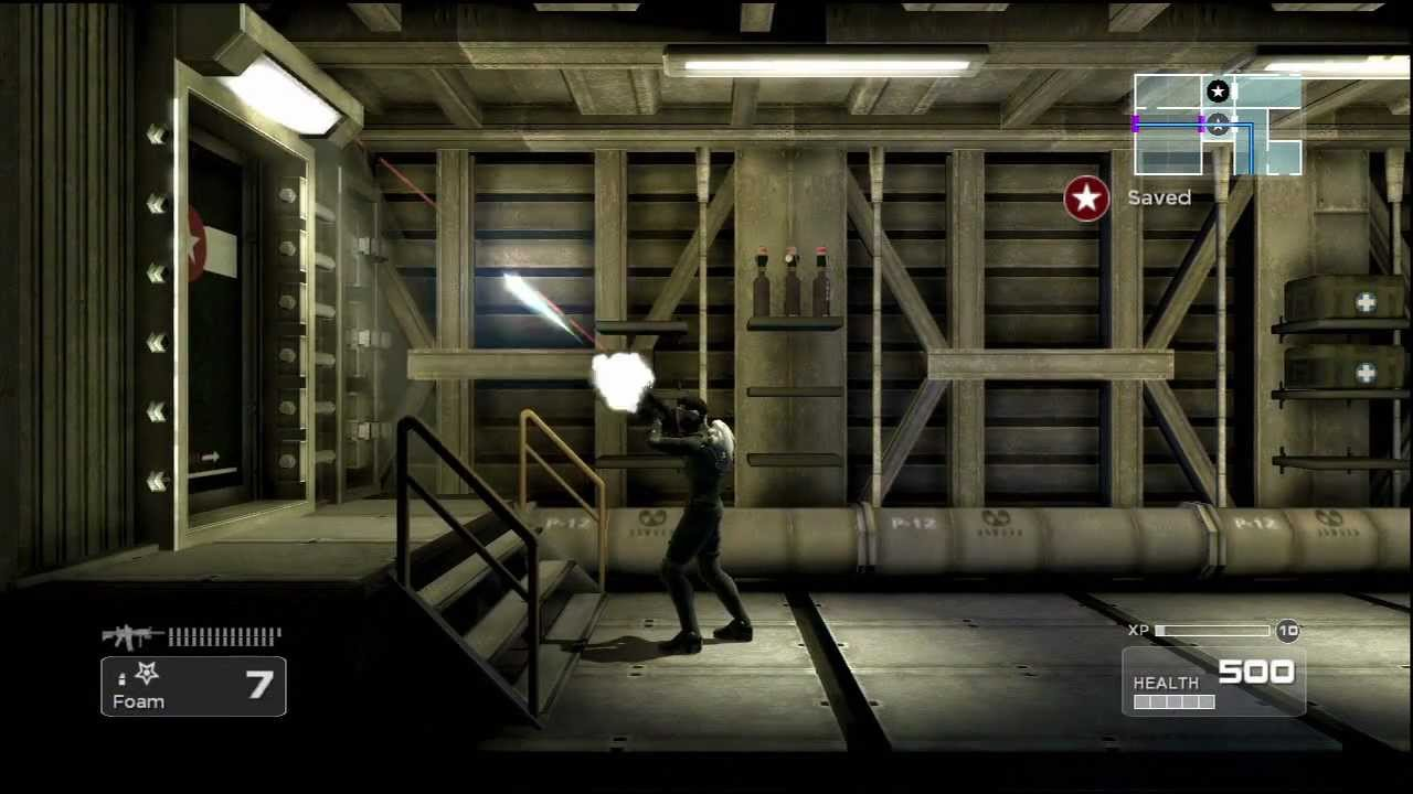 Shadow Complex: Gameplay - YouTube