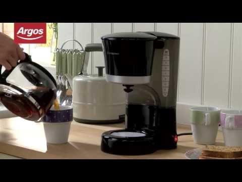 Cookworks Cm2021j Filter Coffee Maker In Black Argos Review