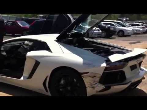 2012 LAMBORGHINI AVENTADOR for sale at Copart Philadelphia