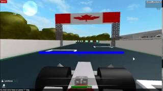 ROBLOX-F1-2 Lap race.