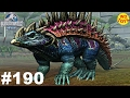 Jurassic World - The Game Episode 190 New Hybrid Nundagosaurus Dinosaurs Ludia vs Indominus Gameplay