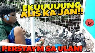 NAGTAMPISAW MGA KALAPATI NATIN SA ULAN (PATI SI EKUNG) AYOS TALAGA PAG MAY AVIARY!