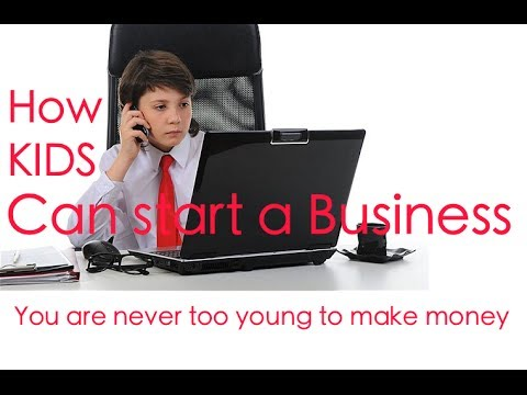 How A Teen Can Start A Business | Response To A Question