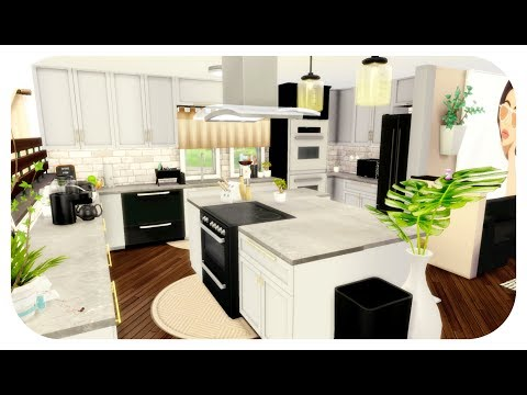 The Sims 4| House Build | Dream Contemporary House! (Speed Build) + Kitchen Download