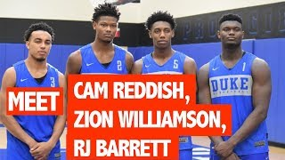 Zion Williamson & Cam Reddish Both Have More Upside Than RJ Barrett NBA DRAFT TALK