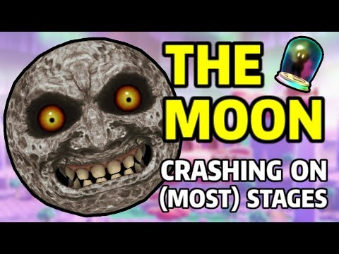 The Moon Crashing into (Most) Stages | Super Smash Bros. Ultimate thumbnail