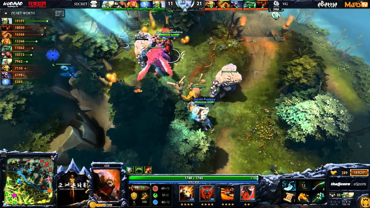 Epic Secret Vs Vici Gaming Game  Asia Championships Ld Lumi Youtube