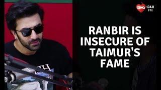 Ranbir Kapoor is insecure of Taimur Ali Khans's fame | Sanju | SidK