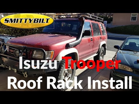 Overland Build: Isuzu Trooper Roof Rack Install