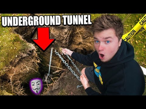 THE GAME MASTER UNDERGROUND HIDEOUT!! The Game Master Secret Underground Tunnel To Project Zorgo