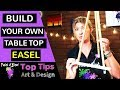 Build your own Table Top Easel on a budget!