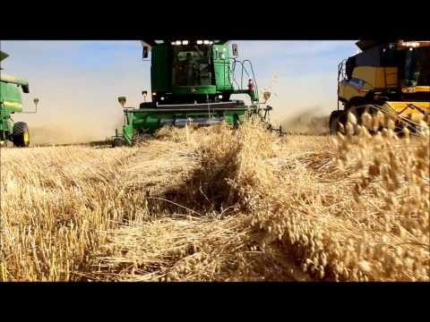 Harvest for Kids Saskatchewan World Record - Official Highlights