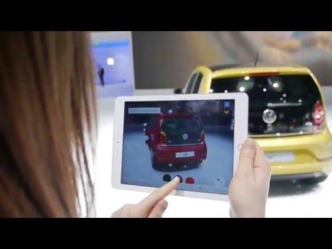 Augmented Reality @ Geneva Motor Show 2016 – Volkswagen seeMore