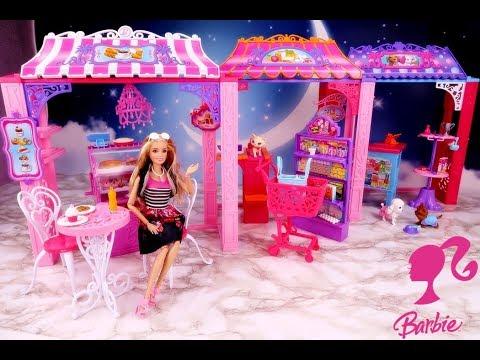 Barbie 🎁 Malibu AVE 🎁 Centrum handlowe 🎁 Otwieramy i bawimy się lalkami 🎁 Unboxing 🎁