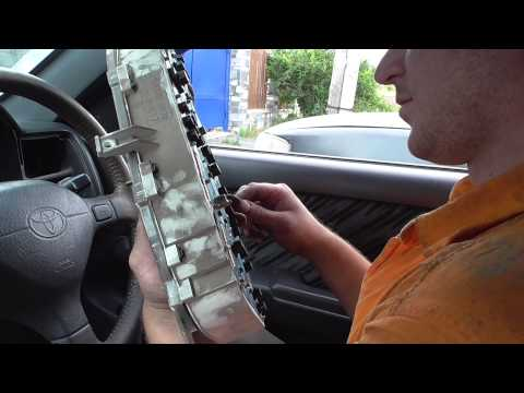 Как снять щиток приборов toyota caldina 196 кузов 1996 год