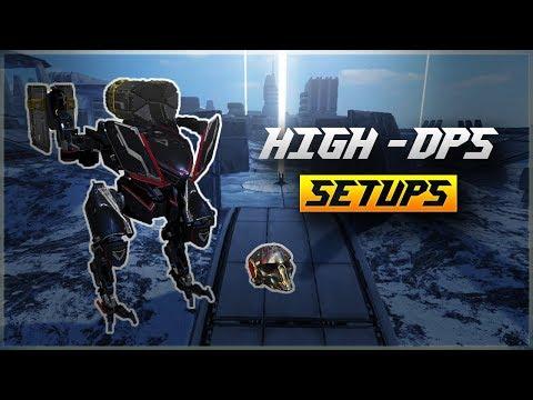 WR 🔥 High Damage Setups With Deathmark  War Robots