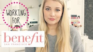 Working for Benefit Cosmetics | Luce Stephenson