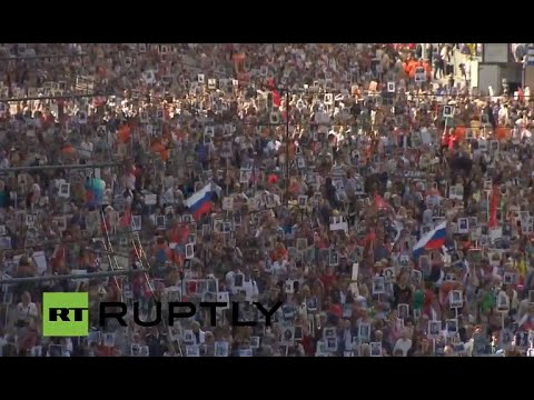 LIVE: Immortal Regiment campaign marks Victory Day around Russia (II part)