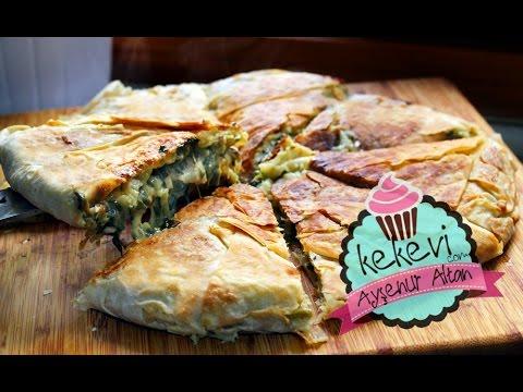 Tavuk, Ispanak ve Beşamelli Tava Böreği / Ayşenur Altan Yemek Tarifleri