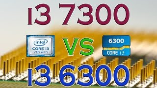 i3 7300 vs i3 6300 benchmarks gaming tests review and comparison kaby lake vs skylake
