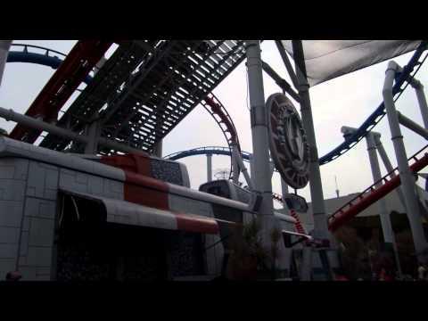 Battlestar Galactica Roller Coaster in Singapore