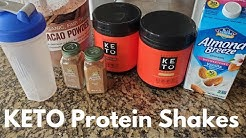 Perfect Keto Whey Protein Powder // Keto Protein Shakes For Those Busy Days // Egged Out Meal Ideas