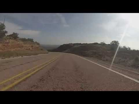 Texas Highway 207 in Palo Duro Canyon