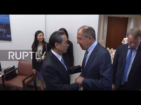 UN: Lavrov and Chinese FM Wang Yi hold meeting on UNGA sidelines