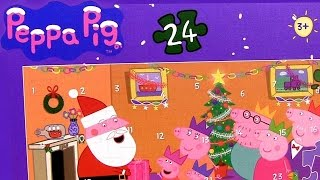 Peppa Pig Advent Puzzle Surprise ❤ 24 Days To Christmas With Disney Princess Anna Elsa Frozen