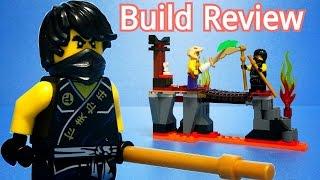 레고 닌자고 Lego Ninjago 70753 Lava Falls - Build Review