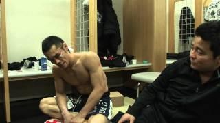 Furuki backstage after Andy fight - Dynamite!! 池端忍 検索動画 10