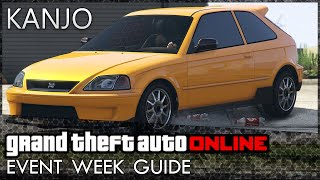GTA Online: Diamonds REMOVED, Kanjo Released, Double Money on Crates and More!
