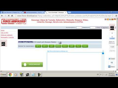 Descargar Musica  o Videos Gratis Facil Y Rapido [Force Download] Sin Programas 2013