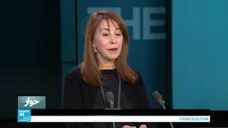 """هادية بركات: عبارة """"الشعب يريد إسقاط النظام"""" صنعت الانتقال الديمقراطي في تونس"""