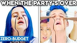 BILLIE EILISH WITH ZERO BUDGET! (When The Party's Over PARODY)