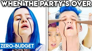 Gambar cover BILLIE EILISH WITH ZERO BUDGET! (When The Party's Over PARODY)