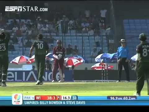Pakistan vs West Indies Wickets World Cup 2011