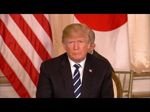President Donald Trump holds joint news conference with Japanese PM Abe| ABC News
